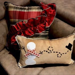 Eastern Accents LumbarPillow FaLaLa Jack Frost NWTBoutique for sale